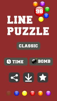 Line 98 Puzzle poster