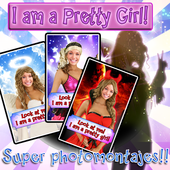 Girl's Super photomontages LT icon