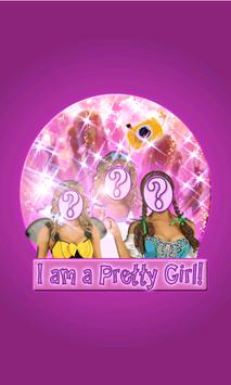 Girl's Super photomontages LT poster