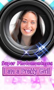 Girl's Super photomontages LT screenshot 2