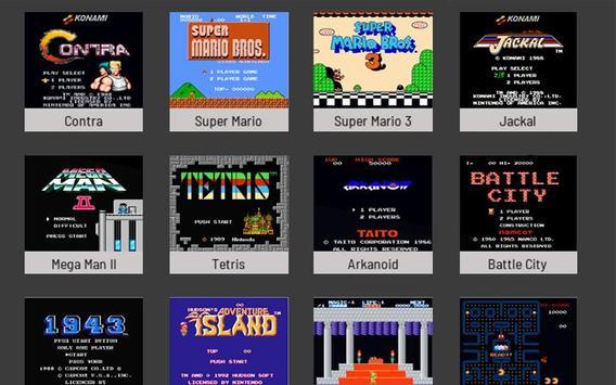 Nes Classic Emulator Games 2018 poster