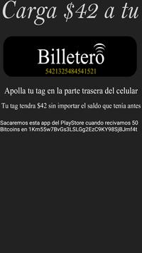 Billetero screenshot 1