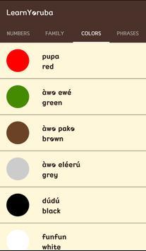 Learn Yoruba screenshot 3