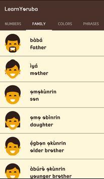 Learn Yoruba screenshot 2