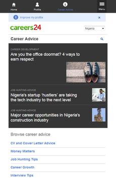 Careers24 Nigeria Job Search apk screenshot