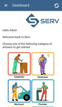 SERV App screenshot 2