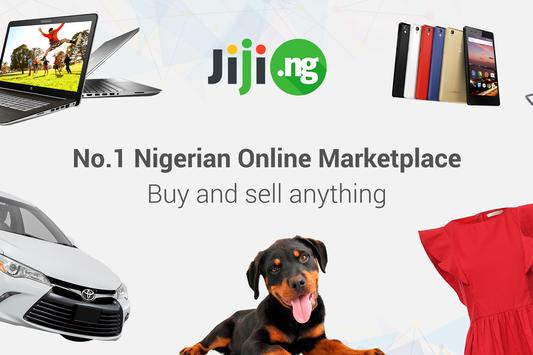 JIJI – CHEAP AND SAFE SHOPPING poster