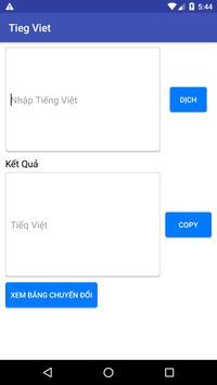 Tieg Viet poster