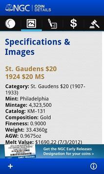 NGC Coin Details apk screenshot