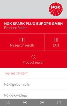 NGK EU Product finder poster