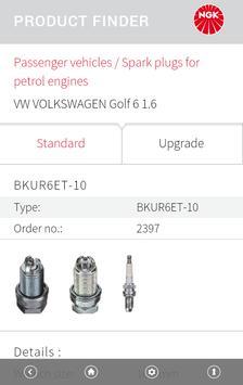 NGK EU Product finder apk screenshot