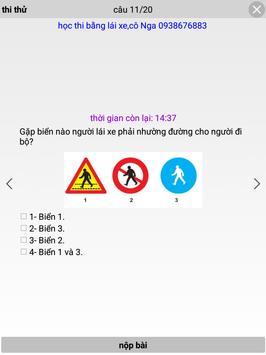 Ôn thi bằng lái xe A1 apk screenshot