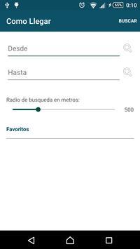 Buses Managua screenshot 1