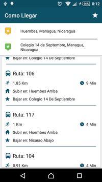 Buses Managua screenshot 4