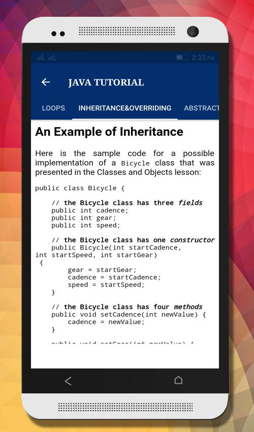Tutorials for Android and Java for Android - APK Download