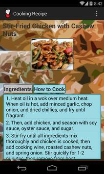 CookingRecipe apk screenshot