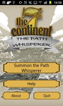 7th Continent: Path Whisperer poster