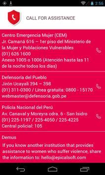 #NiUnaMenos apk screenshot
