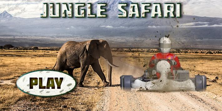 Jungle Safari Racing poster