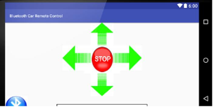 Bluetooth Remote Car Control screenshot 1