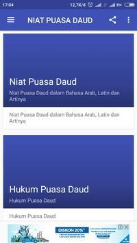 NIAT PUASA DAUD screenshot 1