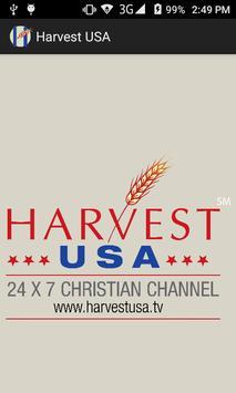 Harvest USA poster