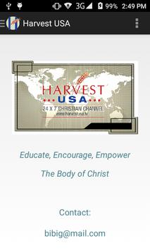 Harvest USA apk screenshot