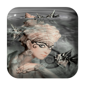 Mermaid Water Touch Lwp icon