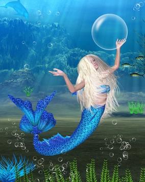 Mermaid Water Touch Lwp apk screenshot