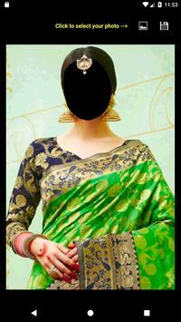 Festive Saree Face Changer screenshot 4
