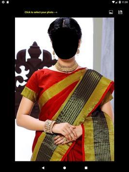 Festive Saree Face Changer screenshot 7