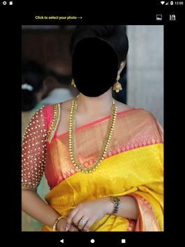 Festive Saree Face Changer screenshot 11