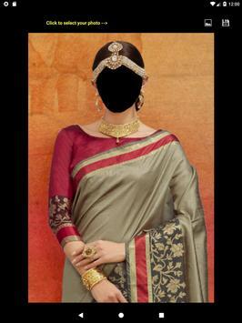 Festive Saree Face Changer screenshot 12