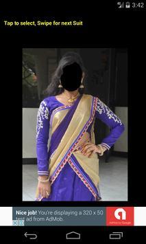 Half Saree Face Changer screenshot 4