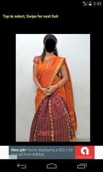 Half Saree Face Changer screenshot 6