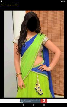 Half Saree Face Changer screenshot 8