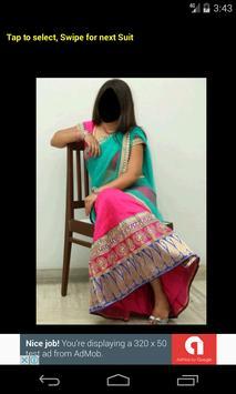 Half Saree Face Changer screenshot 2