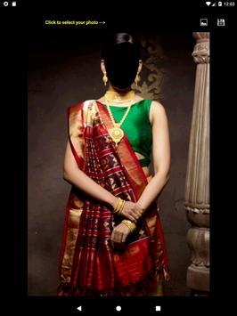 Silk Saree Face Changer screenshot 11