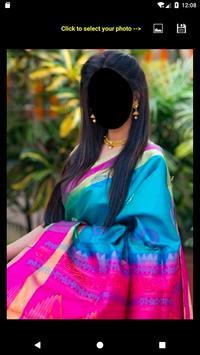Silk Saree Face Changer screenshot 1