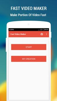 Fast Video Maker poster