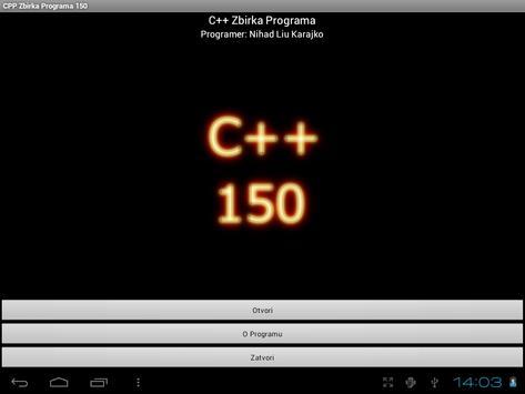 C++ Zbirka Programa 150 poster
