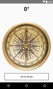 Pirates of the  Sea Compass poster