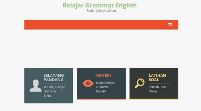 Belajar Grammar English apk screenshot