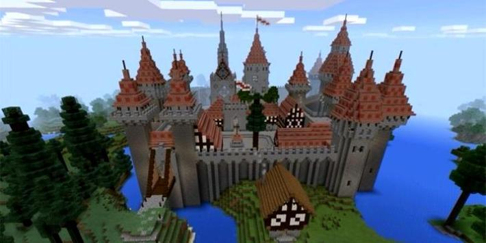 Castle Mod For Minecraft poster