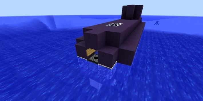 Submarine Mod For Minecraft apk screenshot