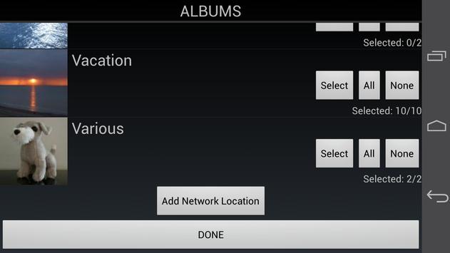PhotoFlight Slideshow FREE apk screenshot