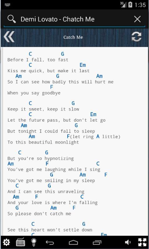 best Let It Go Demi Lovato Lyrics Chords image collection