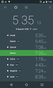 Prayer Time and Qibla poster