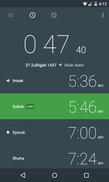 Prayer Time and Qibla apk screenshot