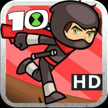 Ben Adventure Ninja 10 poster